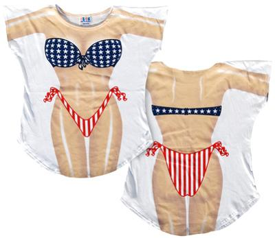Stars & Stripes Bikini Cover-Up