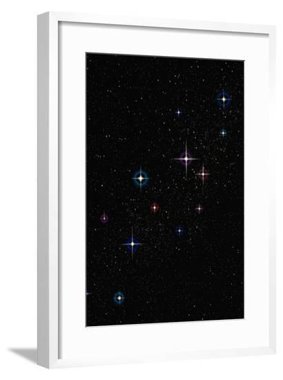Stars--Framed Giclee Print