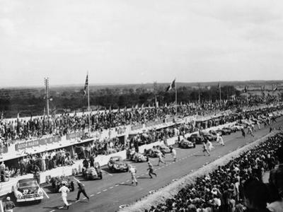 Start of the Le Mans Race, France, 1950