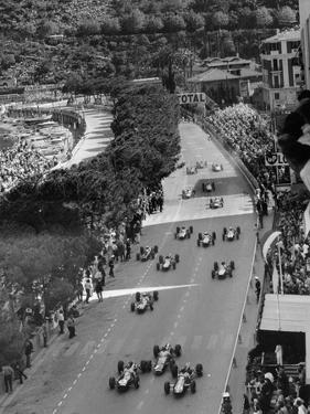 Start of the Monaco Grand Prix, 1964