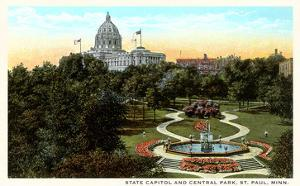 State Capitol and Park, St. Paul, Minnesota