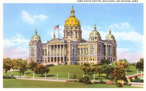 State Capitol, Des Moines, Iowa
