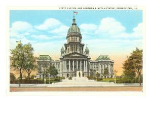 State Capitol, Springfield, Illinois