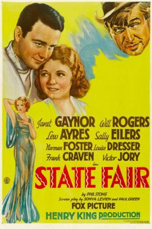 State Fair, Lew Ayres, Janet Ayres, Will Rogers, 1933