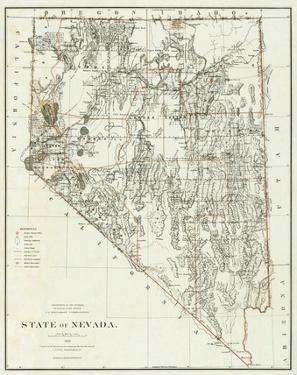 State of Nevada, c.1879