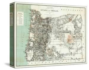 State of Oregon, c.1879