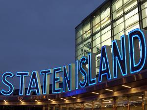 Staten Island Ferry, Lower Manhattan, Manhattan, New York City, New York State, USA