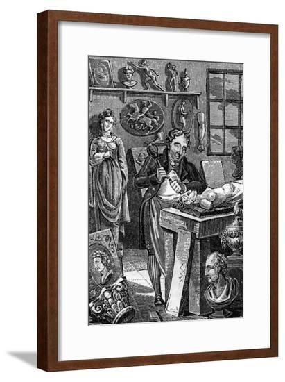 Statuary 1827--Framed Giclee Print