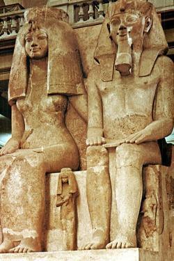 Statue, Amenophis III, Egypt, 18th Dynasty