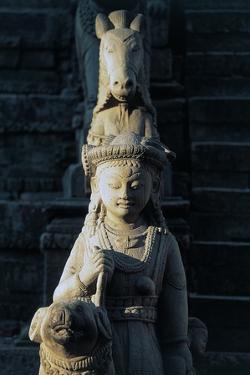 Statue in Vatsala Durga Temple