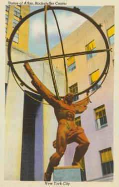 Statue of Atlas, New York City