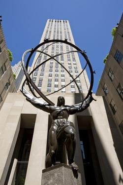 Statue of Atlas, Rockefeller Center, New York