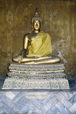 Statue of Buddha, Wat Pho, Bangkok, Thailand, 19th Century
