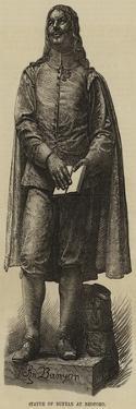 Statue of Bunyan at Bedford