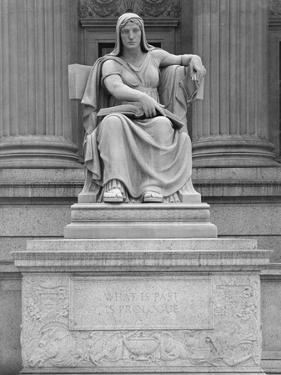 Statue of Clio, the Muse of History