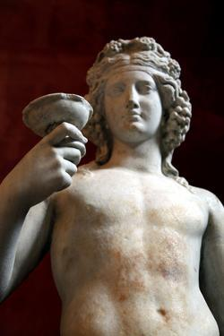 Statue of Dionysus, God of Wine and Patron of Wine Making