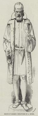 Statue of Galileo, Sculptured by a Munro