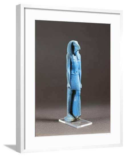 Statue of God Thot--Framed Giclee Print