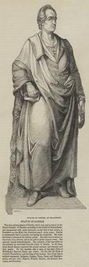 Statue of Goethe, at Frankfort
