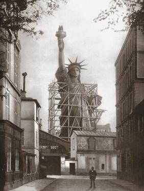 Statue of Liberty in Paris, c.1886