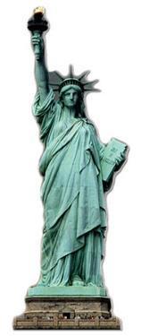 Statue of Liberty Lifesize Cardboard Cutout