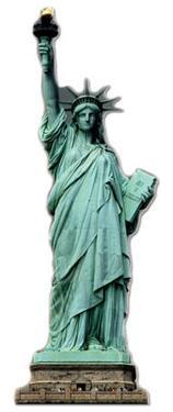 Statue of Liberty Lifesize Standup