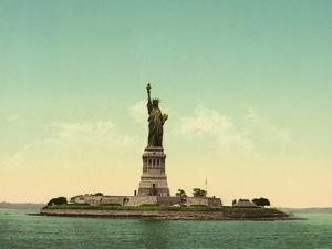 Statue of Liberty, New York Harbor, c.1905