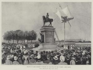 Statue of Lord Roberts Unveiled at Calcutta by the Viceroy, Lord Elgin