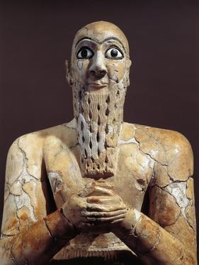 Statue of Official Shibum, from Mari, Tell Hariri