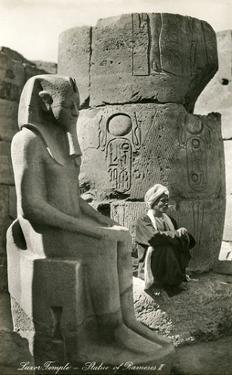 Statue of Ramses II, Luxor, Egypt
