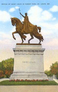 Statue of St. Louis, Forest Park, St. Louis, Missouri