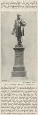 Statue of the Late Mr Henry Richard