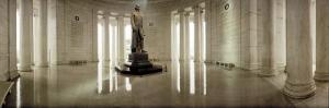 Statue of Thomas Jefferson in a Memorial, Jefferson Memorial, Washington DC, USA
