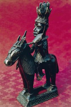 Statuette of King on Horseback, Ife Art, Nigeria