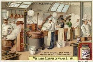 Steam Cooking, for Barracks, Hospitals and Large Establishments