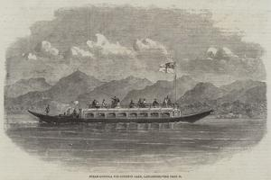 Steam-Gondola for Coniston Lake, Lancashire