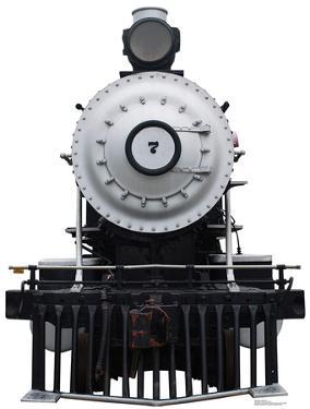 Steam Locomotive #7 Cardboard Cutout