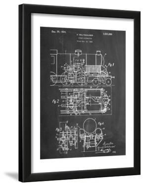 Steam Locomotive Patent