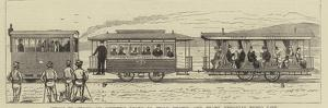 Steam Tramways on Country Roads in Italy, Engine and Train, Vercelli Trino Line