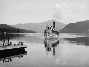 Steamboat Doris on Lake Placid, Adirondack Mountains, C.1902