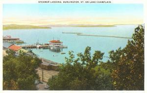 Steamer Landing on Lake Champlain, Vermont