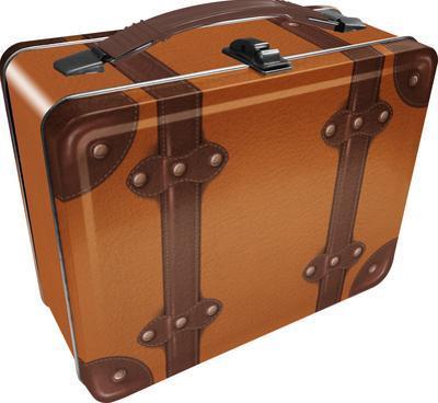 Steamer Luggage Lunch Box