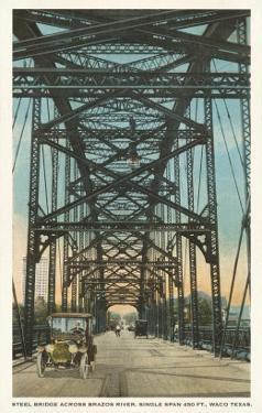Steel Bridge, Waco, Texas