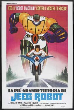 Steel Jeeg (TV) - Italian Style