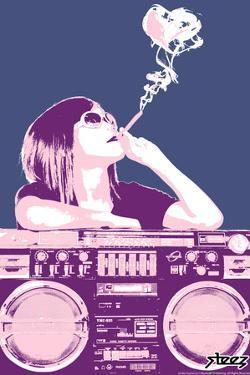 Boom Box Joint - Pink by Steez