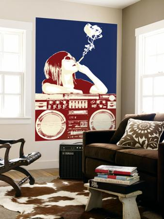 Boombox Joint - Navy/Red by Steez