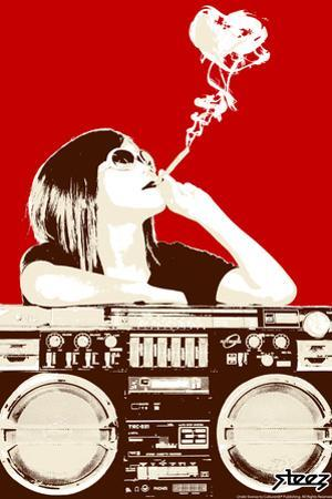 Boombox Joint - Red by Steez
