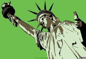 Steez Lady Liberty - Green