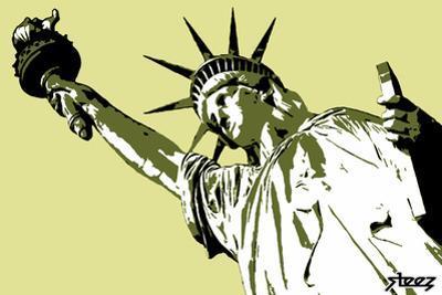 Lady Liberty by Steez