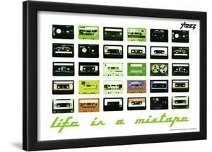Steez Life Is A Mixtape - Green Art Print Poster